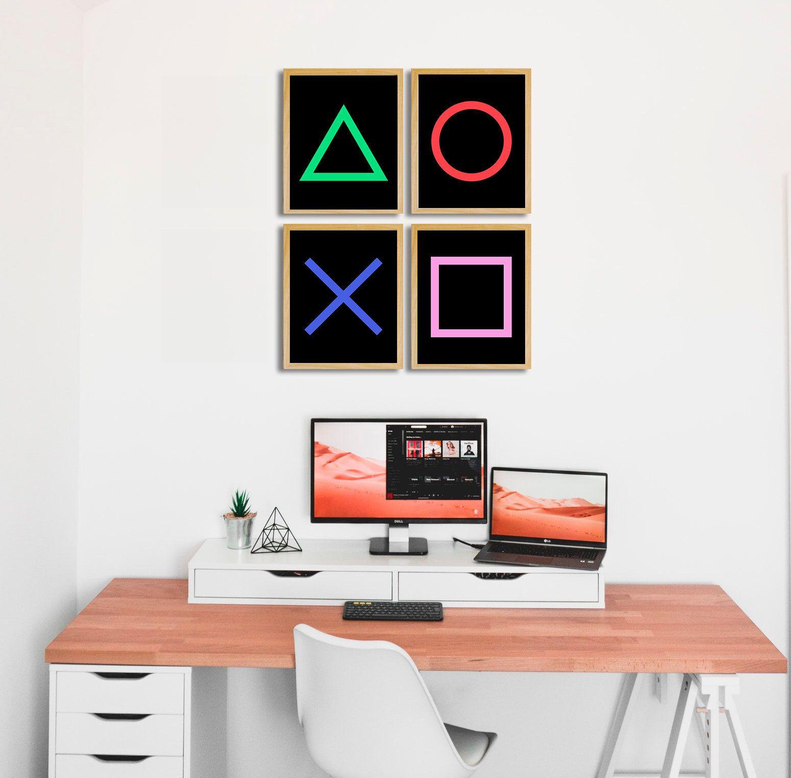 Video Game Decor Gamer Prints Gamer Room Decor Kids Wall Etsy In 2020 Gamer Room Diy Game Room Wall Art Gaming Decor