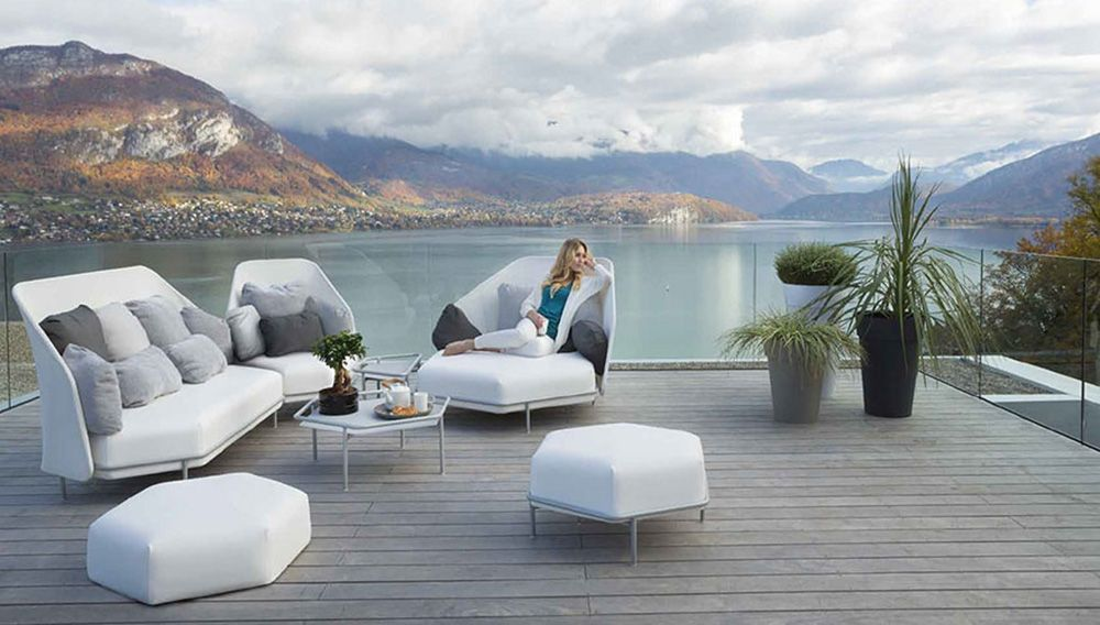 """EGO Paris is a brand reflecting people in their diversity and furthermore their extraordinary freedom to express this diversity. EGO Paris designs and fabricates top line outdoor furniture in aluminium offering a range of finishes without comparison, so everyone can make their choice unique and exclusive – embracing the company spirit of """"my furniture."""""""