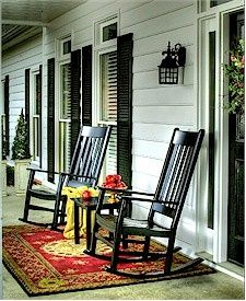 Genial These Black Rocking Chairs Make Perfect Porch Rockers