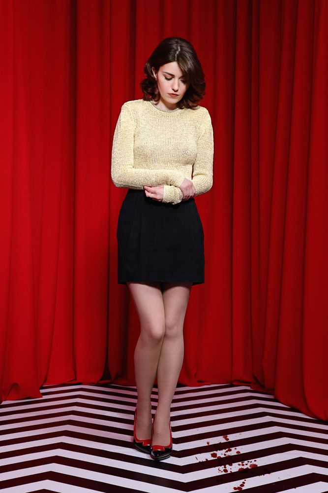 Blood Red Shoes Twin Peaks