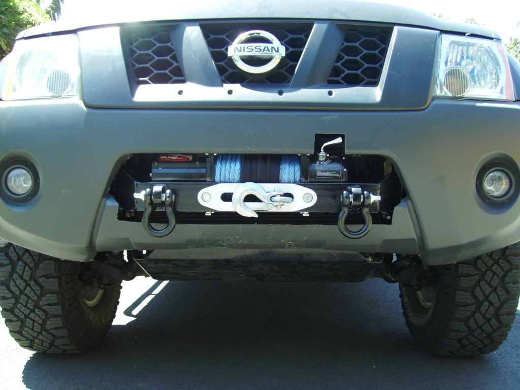 Done Winch Mount In Stock Bumper Pic Heavy Update 6 20 11 Second Nissan Xterra Nissan Pathfinder Nissan Navara