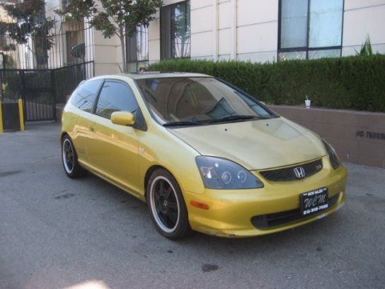 Hatchback, 2002 Honda Civic Si With 2 Door In North Hollywood, CA (91601)