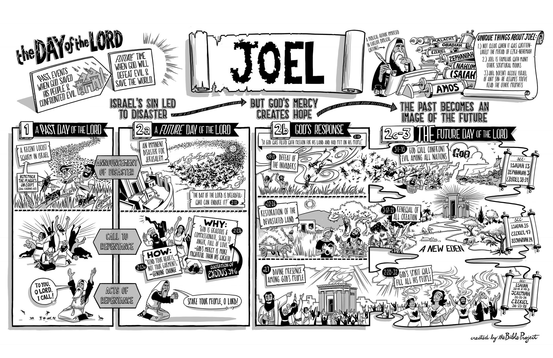 The Bible Project The Book of Joel Poster Book of