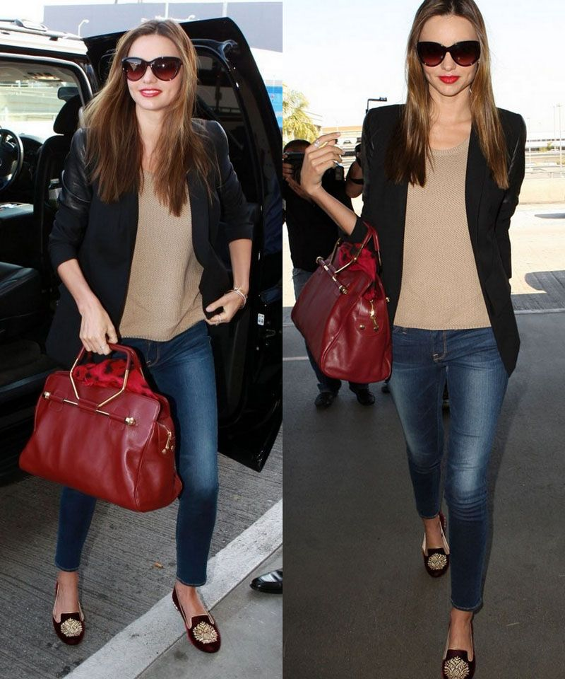 Steal Miranda Kerrs Classic Chic Style The Online Stylistthe Online Stylist Miranda Kerr Style