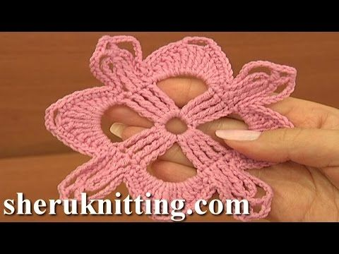 Get More Tutorials Httpsheruknitting Crochet Square Motif