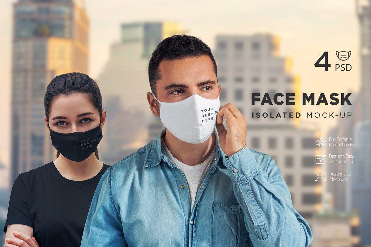 Download Face Mask T Shirt Mock Up Interesting Faces Mocking Mask