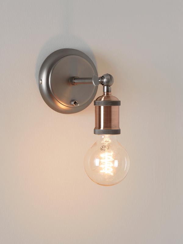 Exposed Bulb Wall Light Wall Lights Bulb Lamp Light