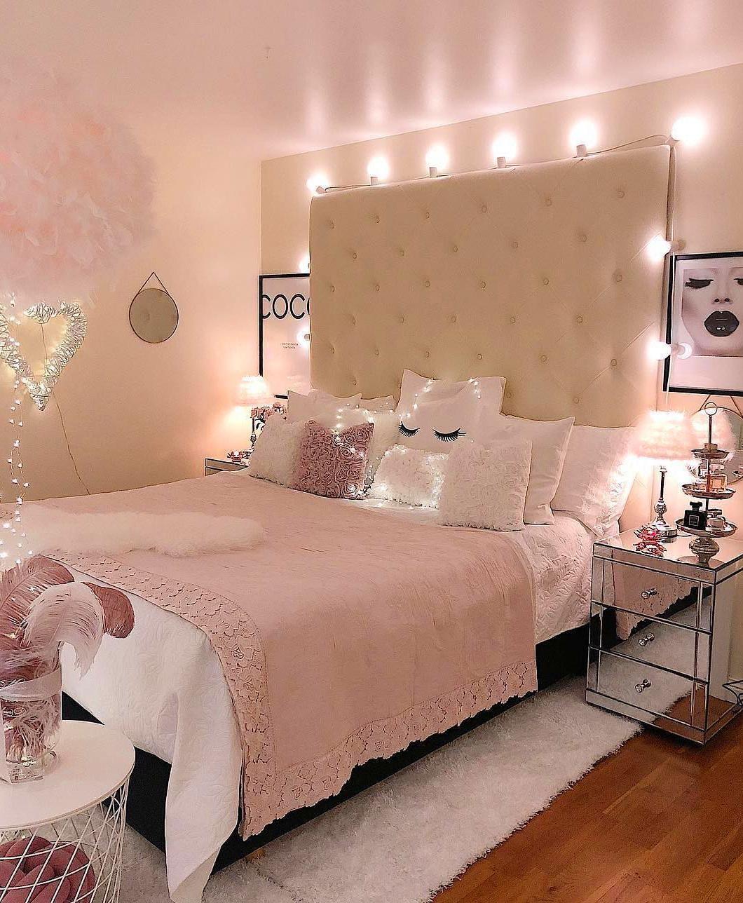 Photo of 60+ idee di decorazione domestica accogliente per camere da letto per ragazze
