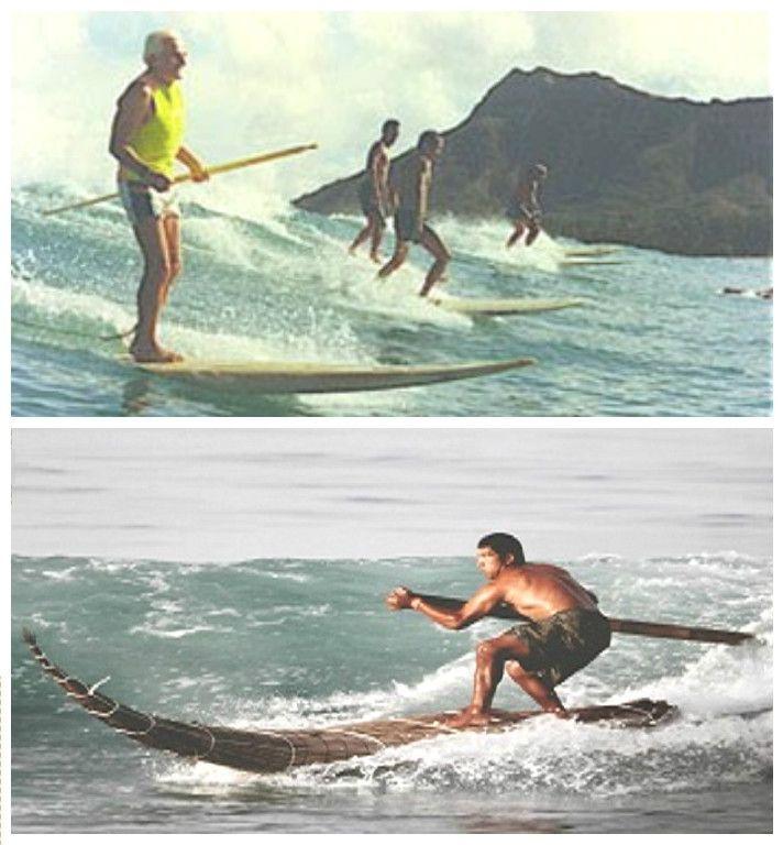 historia paddle surf