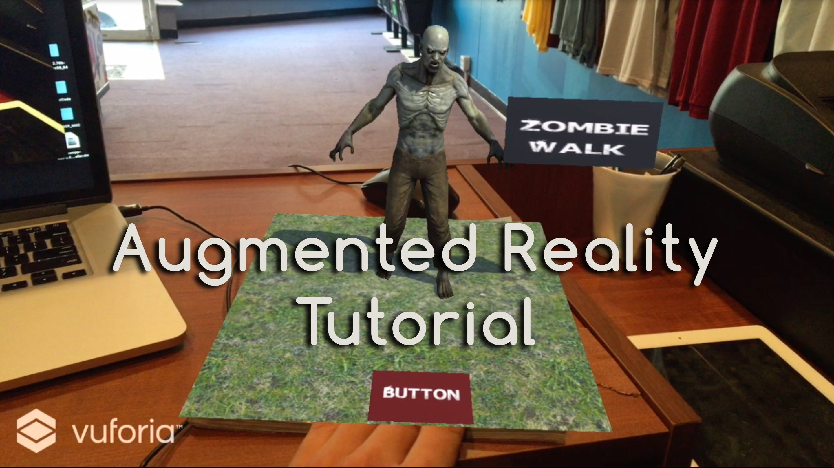 How to augmented reality tutorial: virtual buttons: 7 steps (with.