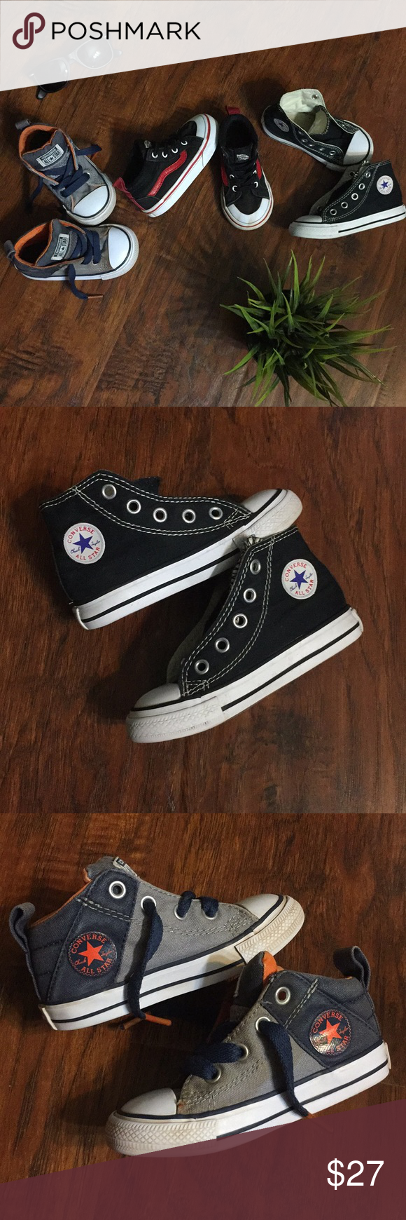converse to vans size