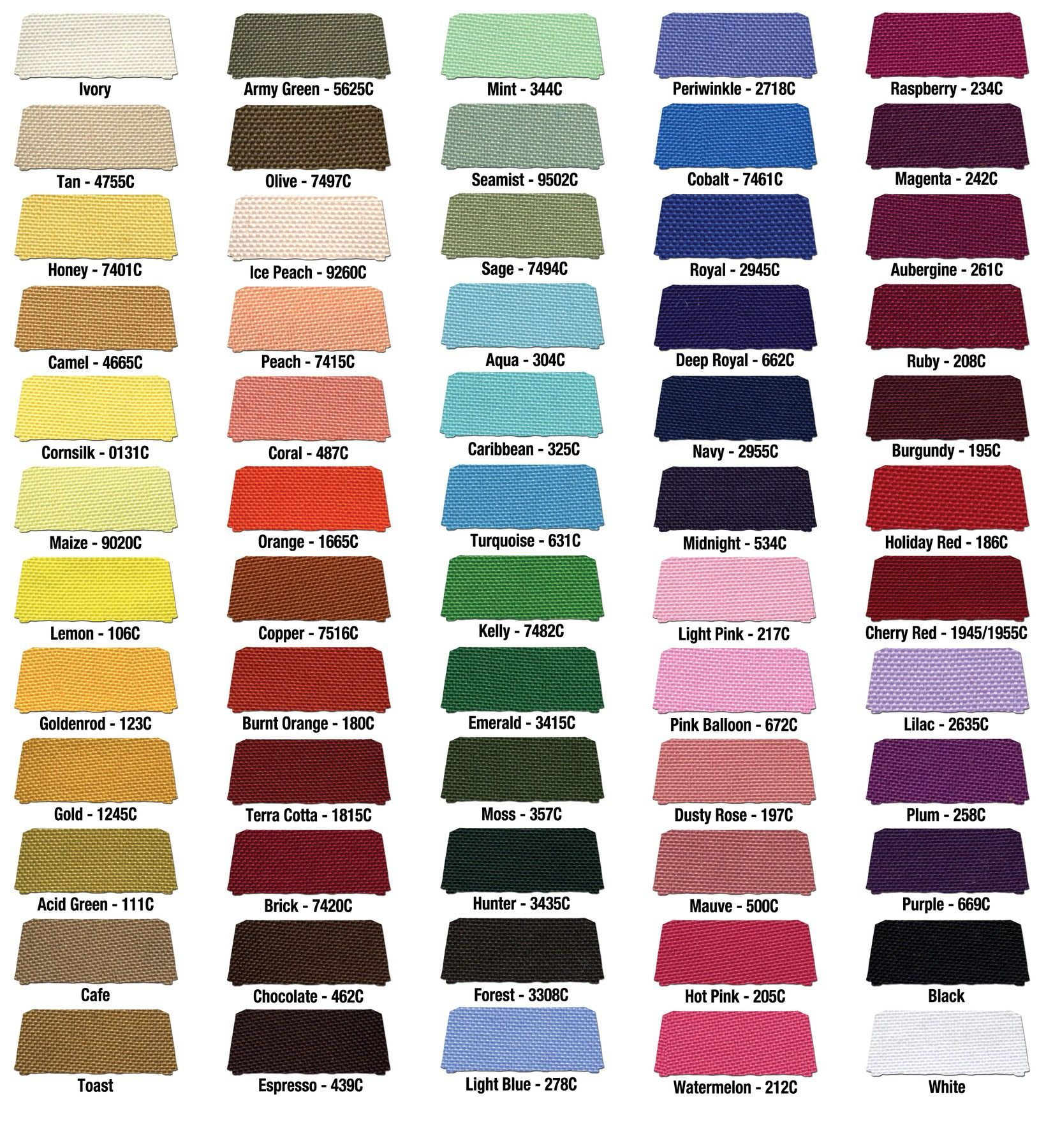 Fabric Color Swatch Hair Dye Colors Hair Dye Color Chart Dyed Hair