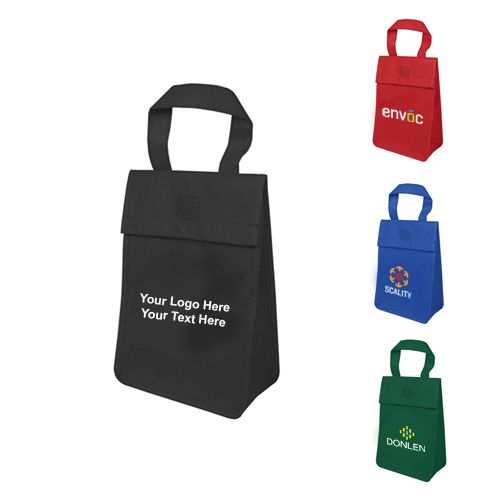 9d06068f9e5 Help user to carry their lunch in style! #lunchbagtotes #promotionalproduct  #noninsulated #ecofriendly. Custom printed non- insulated lunch tote ...