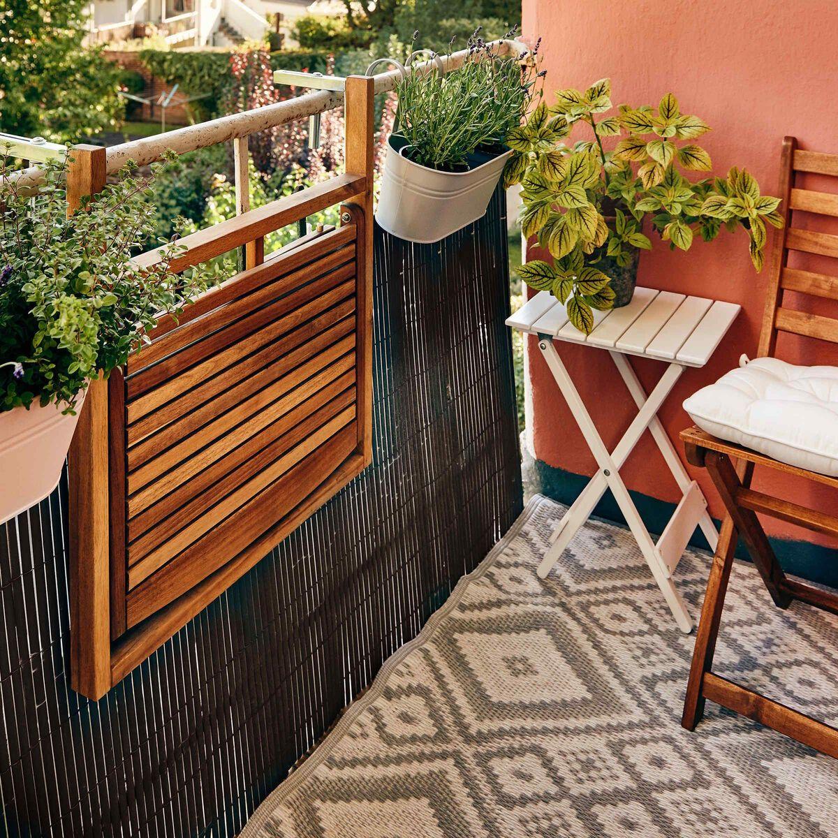 Lodge Balkon Klapptisch Butlers Outdoor Dekorationen Klapptisch Balkon Klapptisch