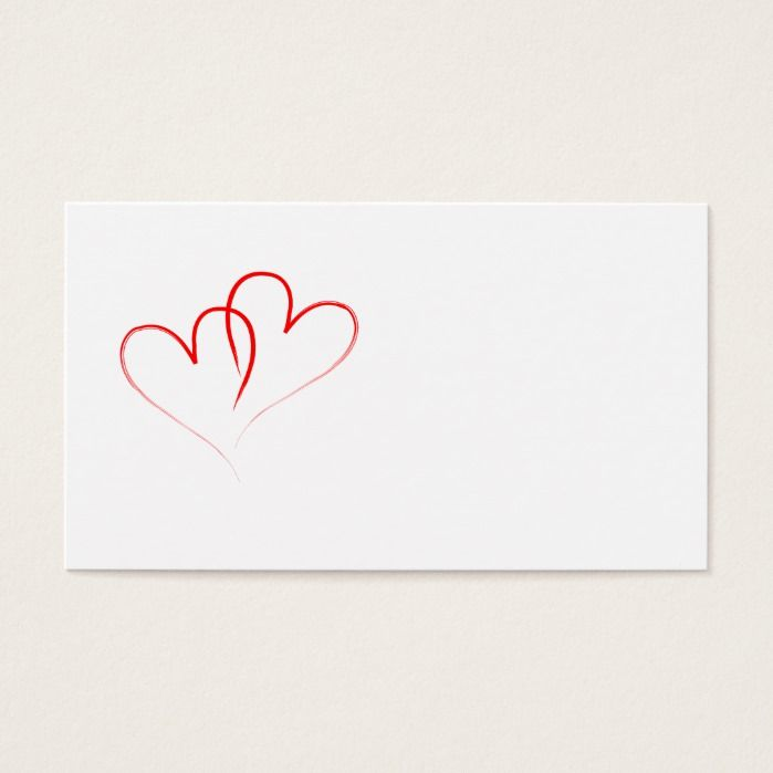 two red hearts intertwined | Zazzle.com