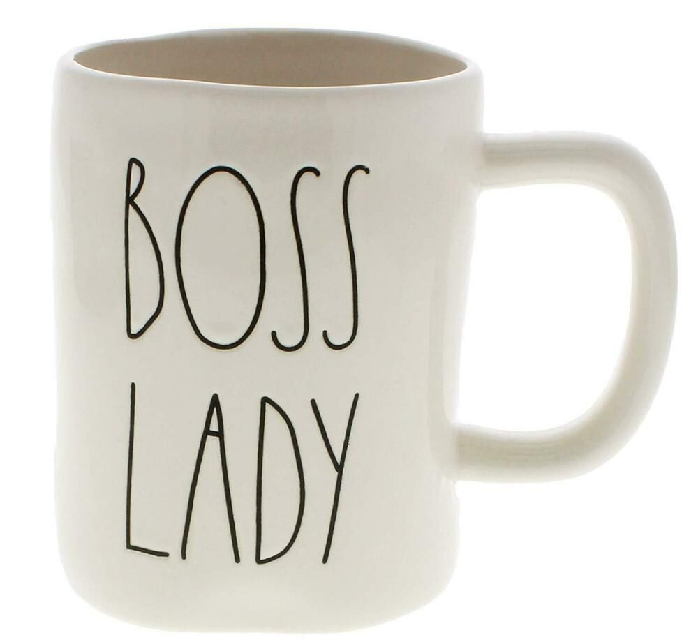 Rae Dunn Boss Lady Ll Coffee Mug New Raedunn Tracy S