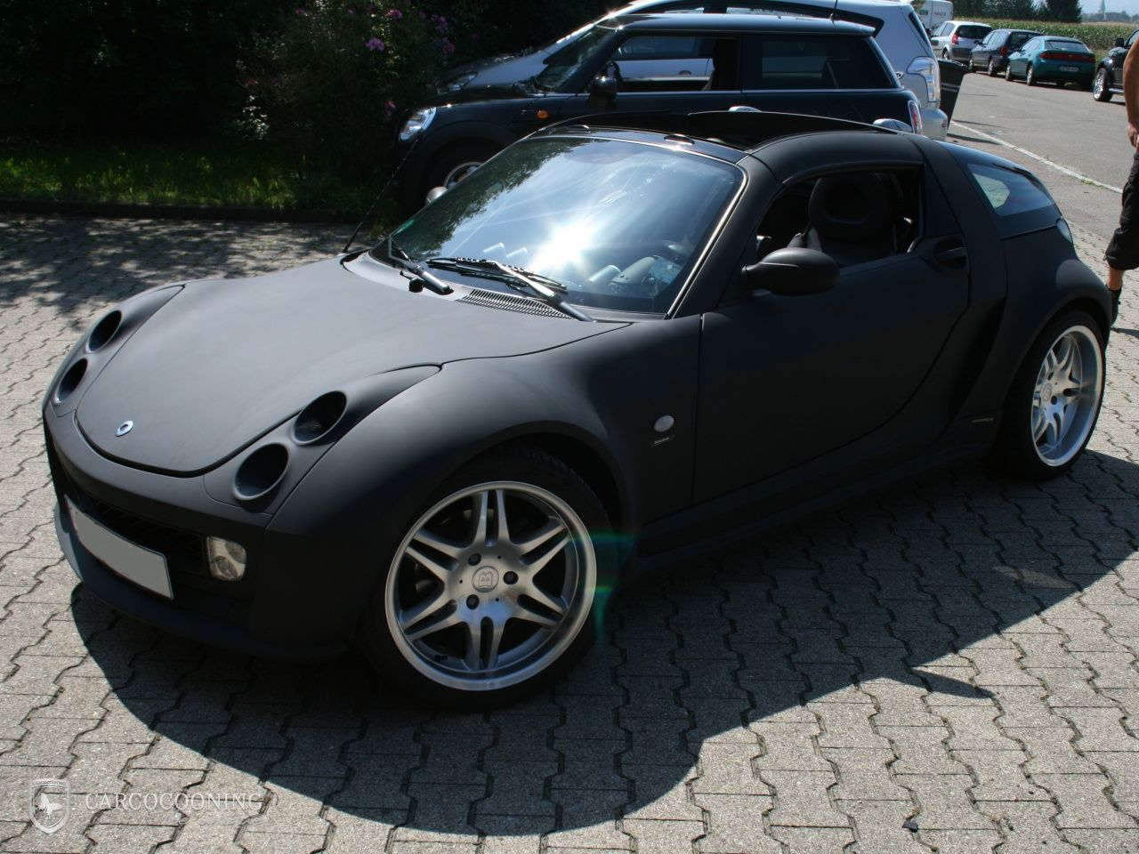 Folierung eines Smart Roadster | Smart | Pinterest | Smart ...