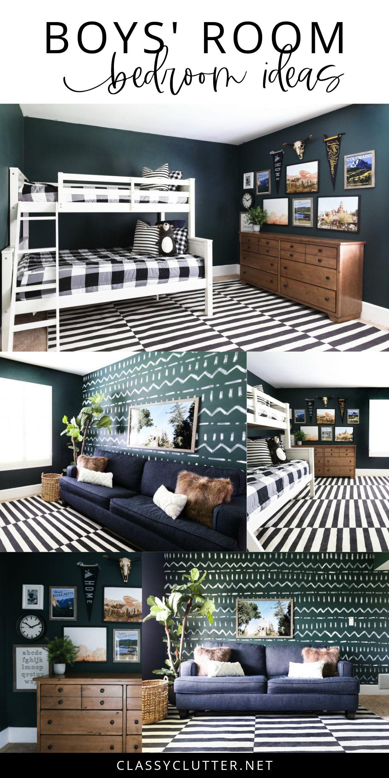 Boys' Room Bedroom Ideas