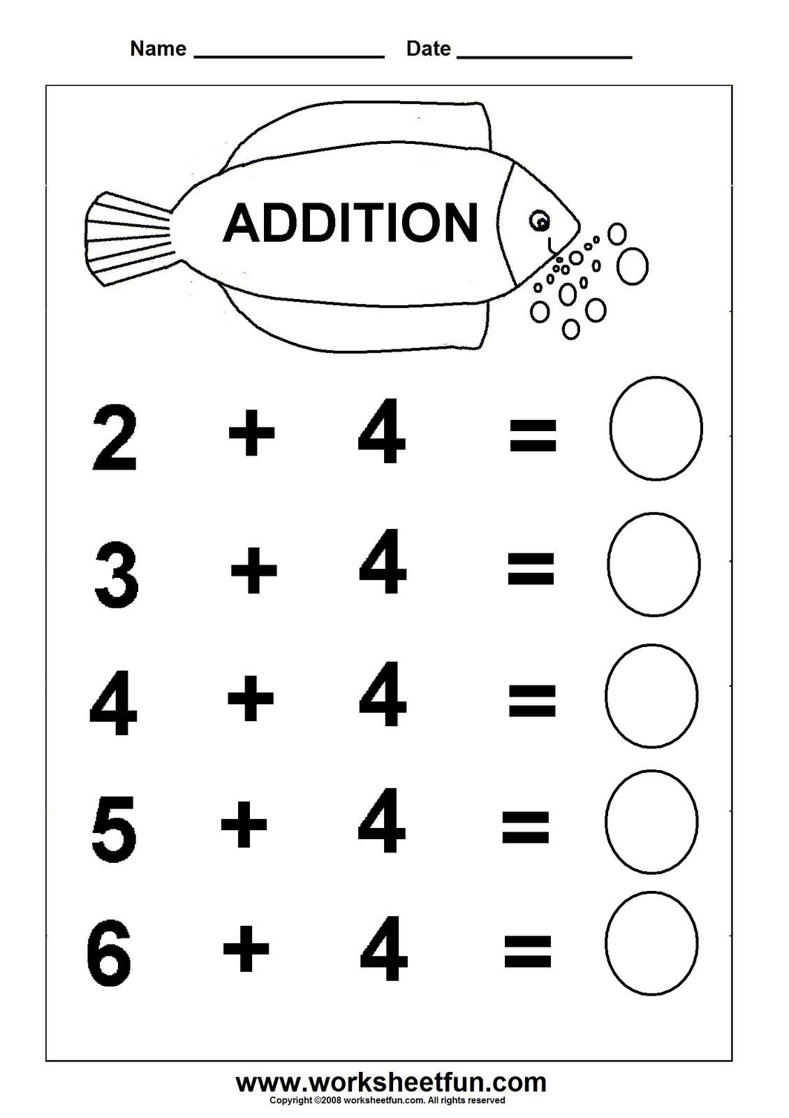 basic english worksheets for kindergarten | Worksheetfun - FREE ...