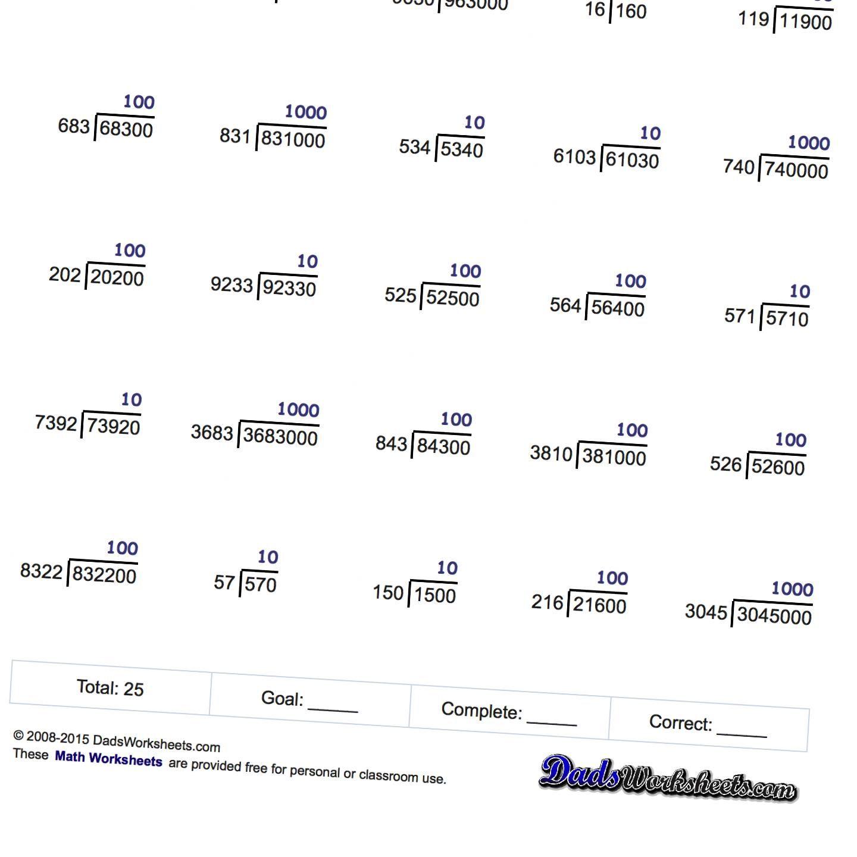 Math Worksheets Factors Of Ten Division Math Worksheets Division Worksheets Worksheets [ 1440 x 1440 Pixel ]