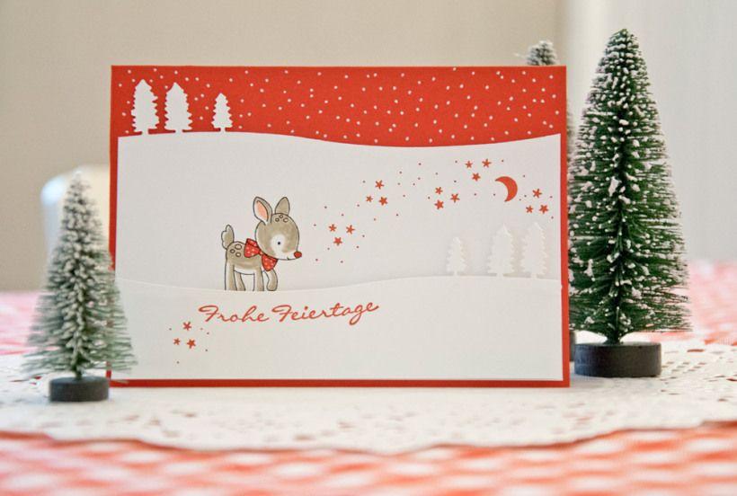 meine erste weihnachtskarte wertschatz werke. Black Bedroom Furniture Sets. Home Design Ideas