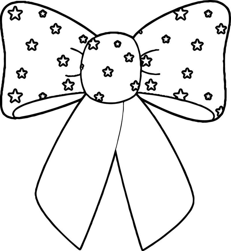 4th Of July Bow Coloring Page In 2020 Bow Drawing Pokemon Coloring Pages Coloring Pages