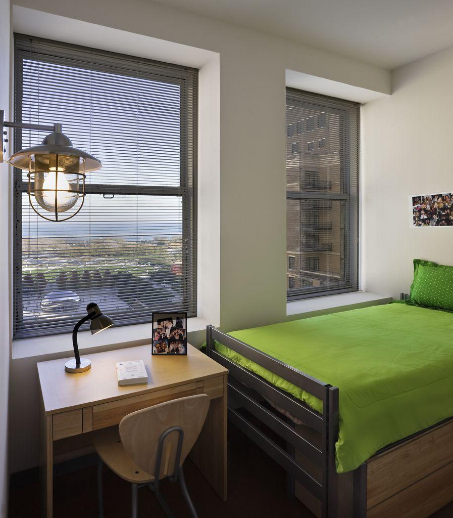 Fornelli Bedroom Interior Bed And Desk