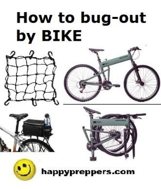 How to pack and select a bugout bike: http://www