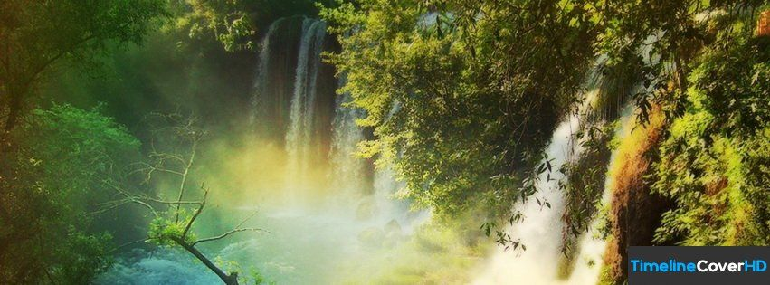 Waterfall Amazing Nature National Geographic Timeline Cover 850x315