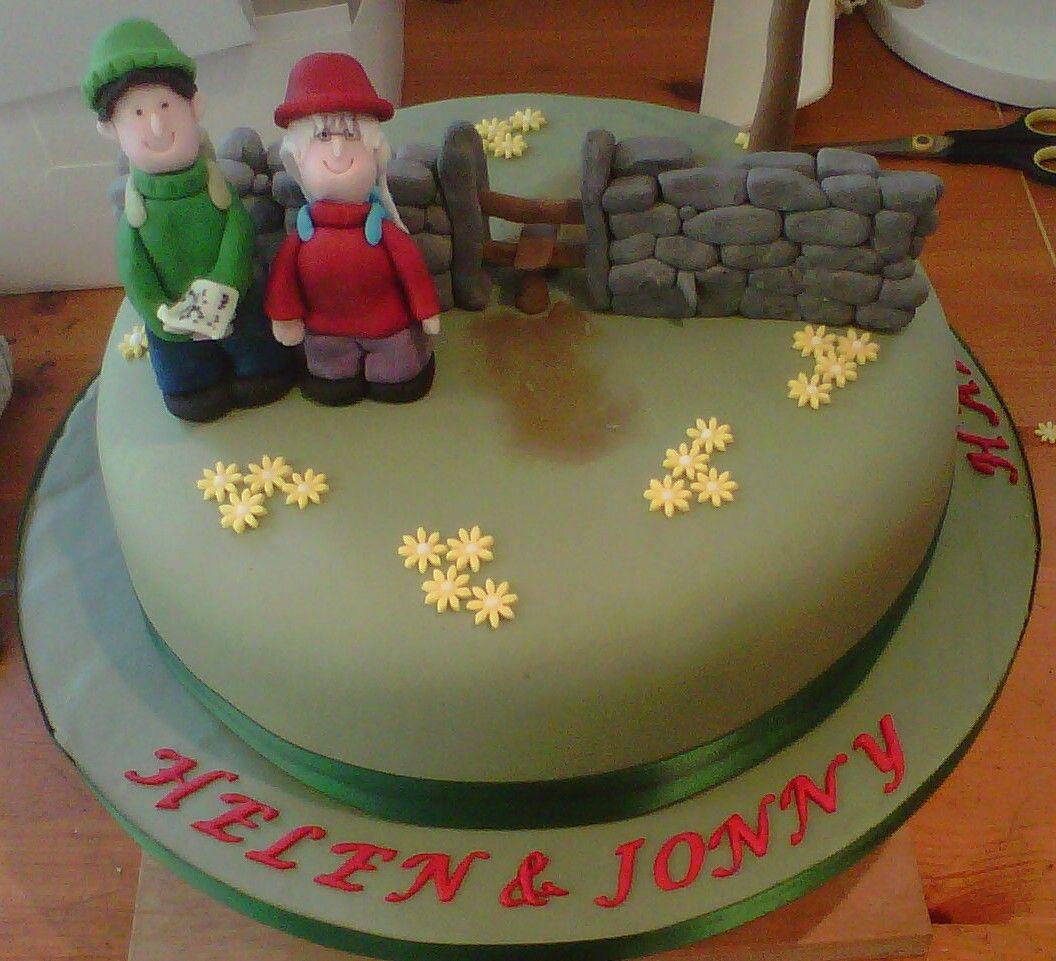 Bakehouse hill walking cake th cakes pinterest cake