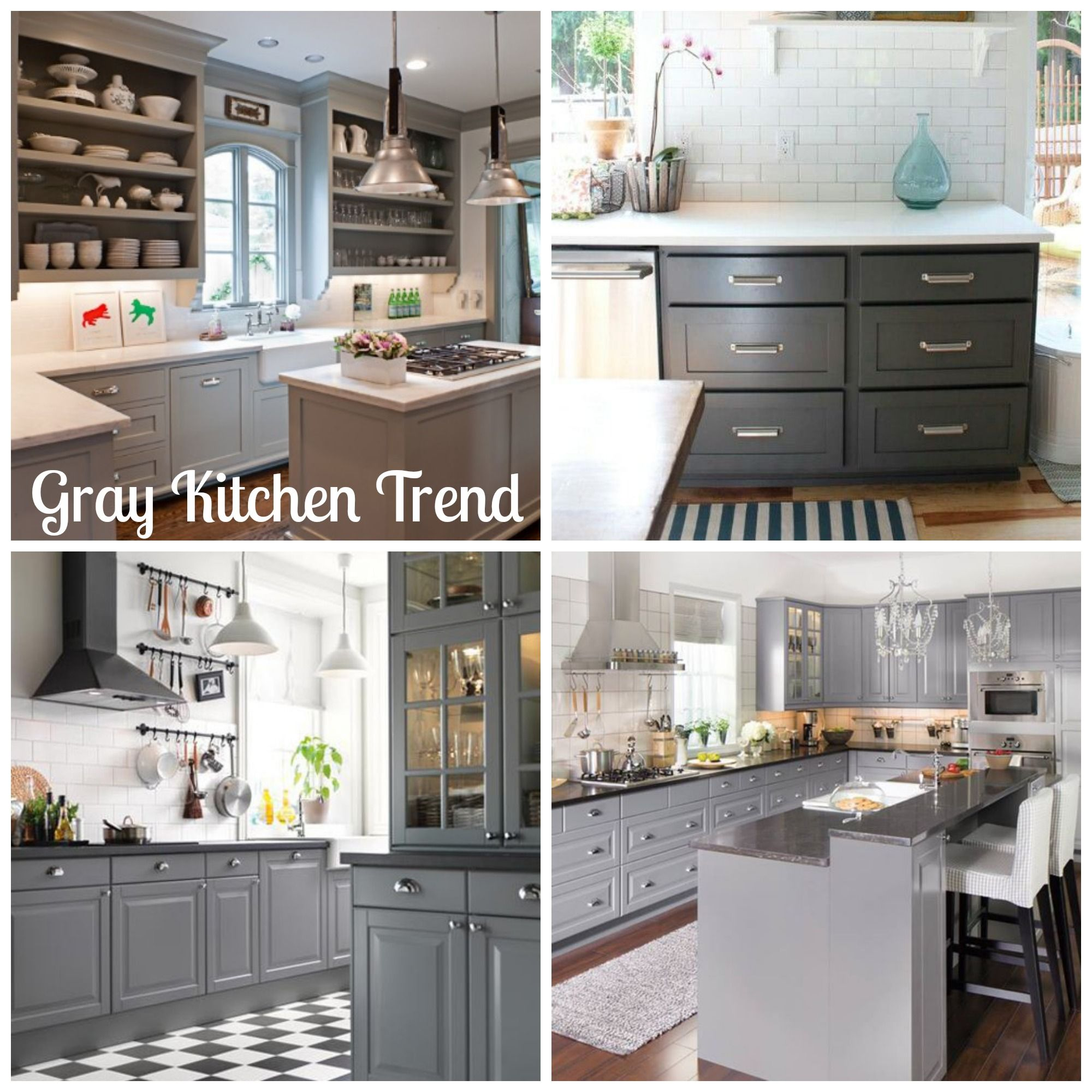 Diy Paint Kitchen Cabinets White: Inspiration! If You Aren't Into Trendy Bold Colors But Don