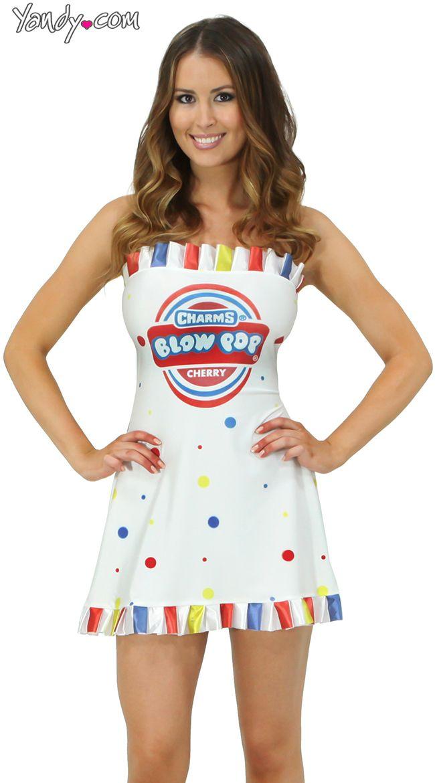 Cherry Blow Pop Costume Costumes, Food costumes and Halloween costumes - food halloween costume ideas