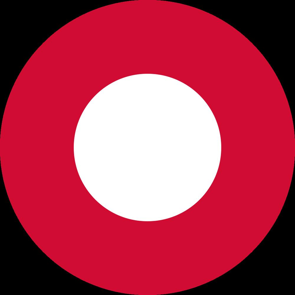Royal Danish Air Force Roundel | O turista, Distintivo