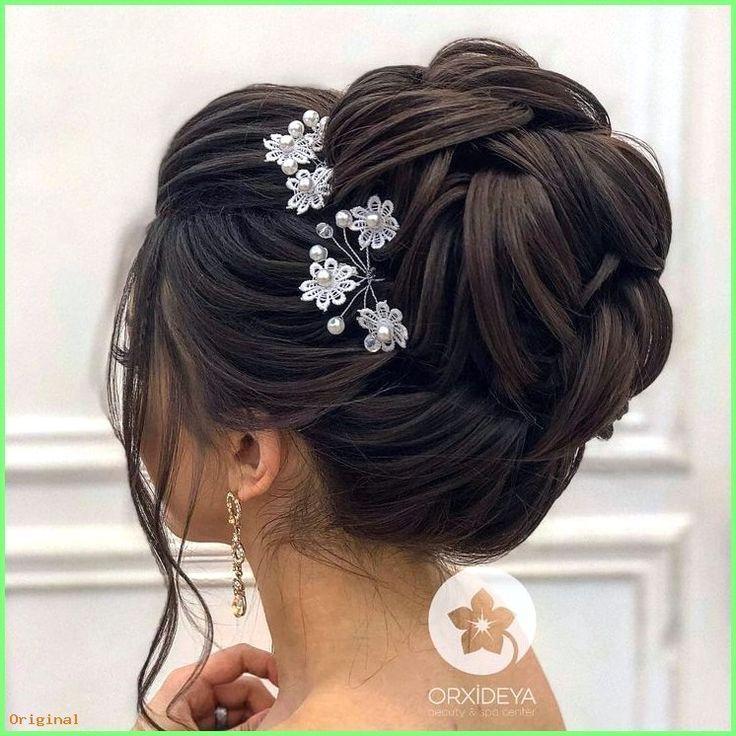Bride 50+ Wallpaper Long Hair Models - Hochzeitstanzfrisuren Frisuren Half High   - make up -