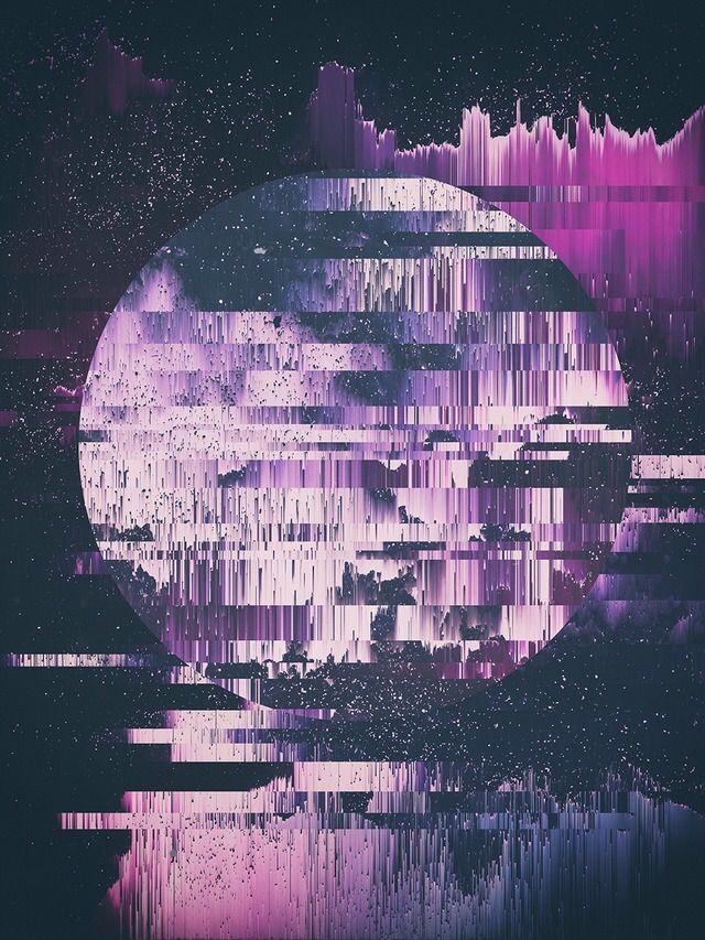 Pin By Ryan Musselman On Glitch Purple Aesthetic Violet