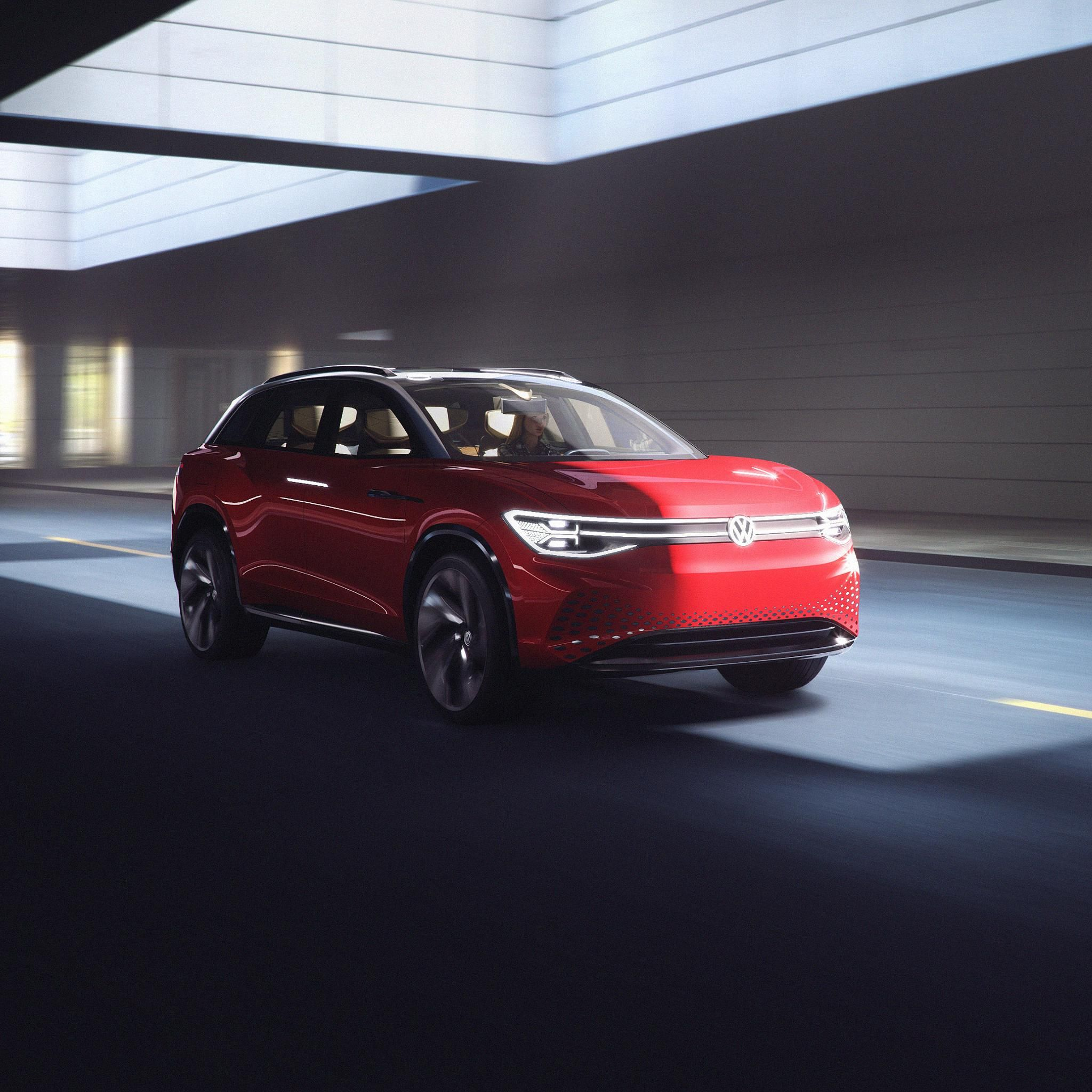 VW's New EV SUV Has Upholstery Made From Apples
