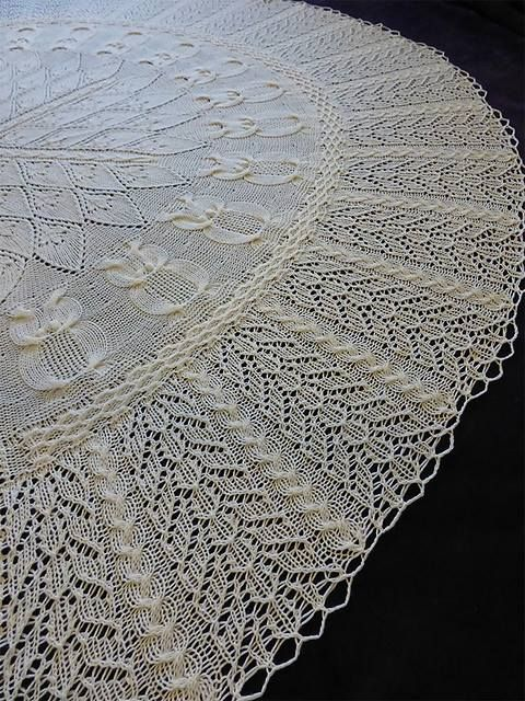 Into The Woods shawl is quite a masterpiece, isn\'t it? And...there\'s ...