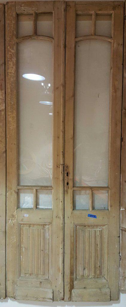 4 Pane Glass Front Door