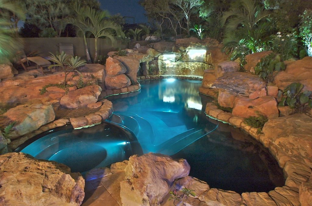 what better way to furnish your outdoor than with an innovative and exotic swimming pool having a pool in your own home is such a great thing especially - Swimming Pools With Grottos