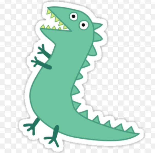 pin the tail on the dinosaur template - use as template for pin the tail on mr dinosaur peppa
