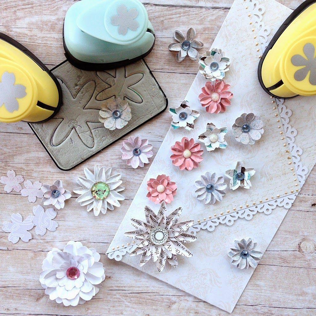 Scrapbooking Cardmaking Jak Zrobic Kwiatki Z Papieru Scrapbook Designs Scrapbook Diy Scrapbook