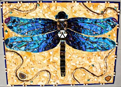 Gallery 3- Fine Art | Dragonflies, Mosaics and Puzzle pieces