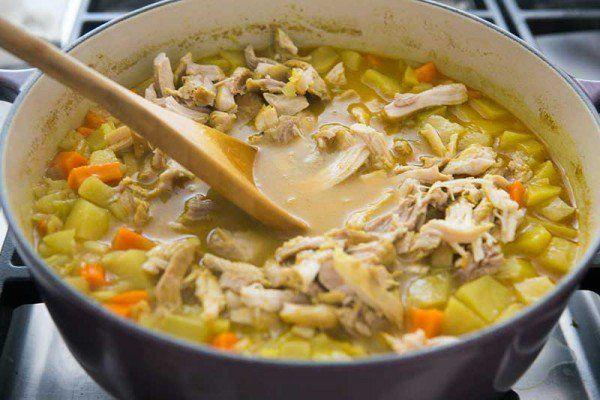 Chicken Mulligatawny Soup Recipe | SimplyRecipes.com