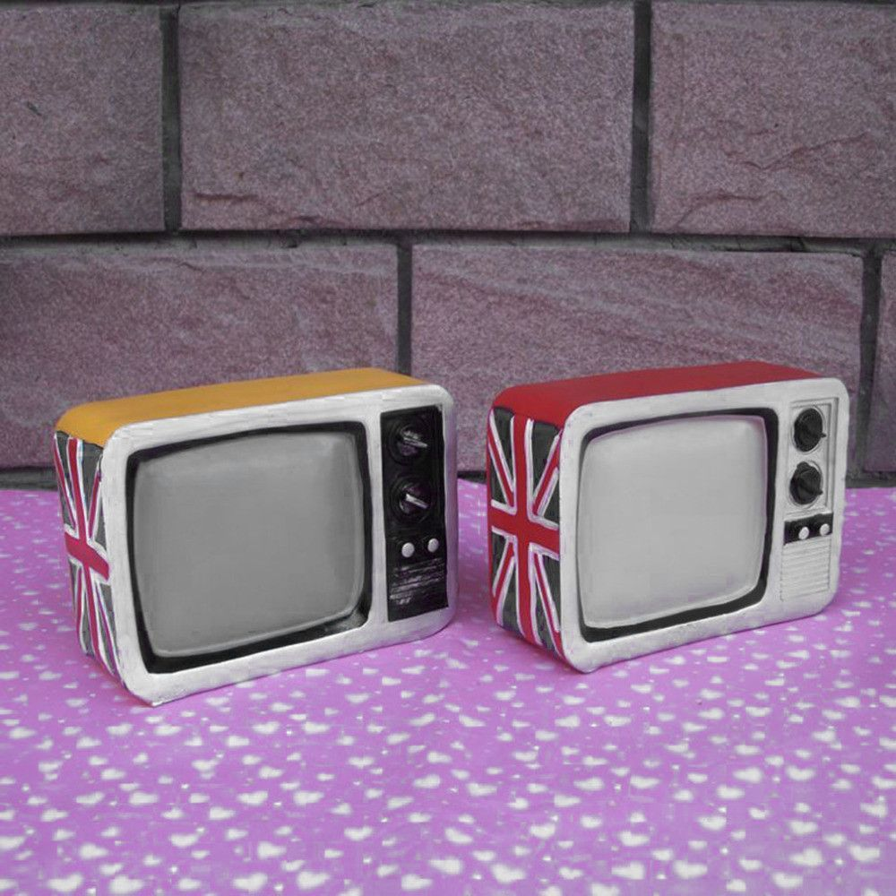 retro television piggy bank cute bank money box fun saving gifts