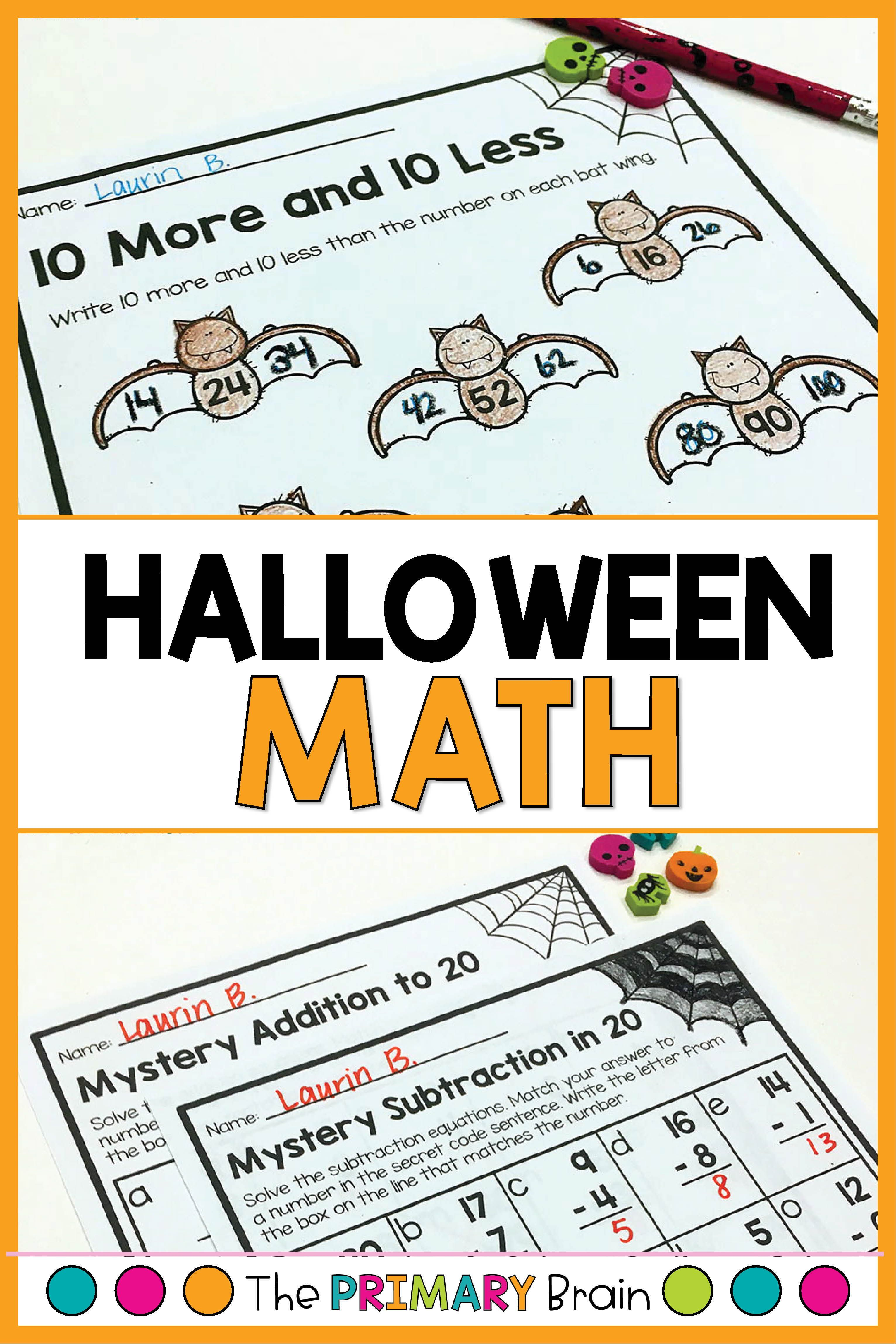 Halloween Math Worksheets Halloween Math Worksheets Math Worksheets Halloween Math Activities [ 4592 x 3063 Pixel ]