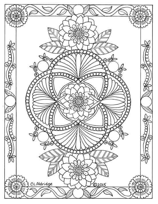 Pin de Rachel Lattin Walker en Coloring | Pinterest | Mandalas ...