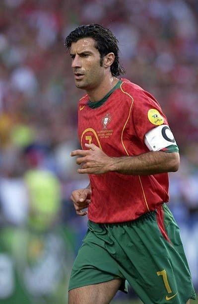 fútbol National jugador Portugal Luis figo fan Big card Edition d20