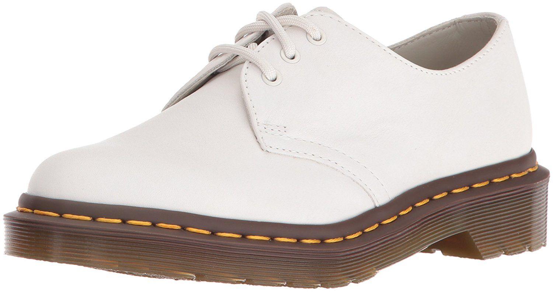 Dr Martens Damen 1461 Virginia Black Derby Schuhe Damen