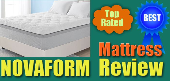Mattress Review The Novaform 14 Serafina Pearl Gel Memory Foam