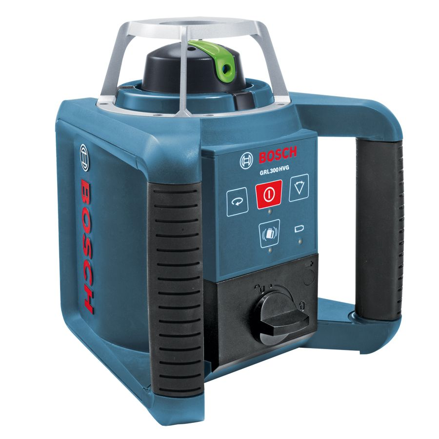 Bosch 1000 Ft Green Beam Self Leveling Rotary 360 Laser Level Grl 300 Hvg In 2020 Rotary Beams Green